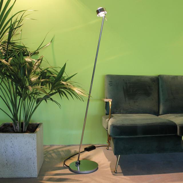 Top Light Puk Floor Maxi Single LED Stehleuchte mit Dimmer ohne Zubehör