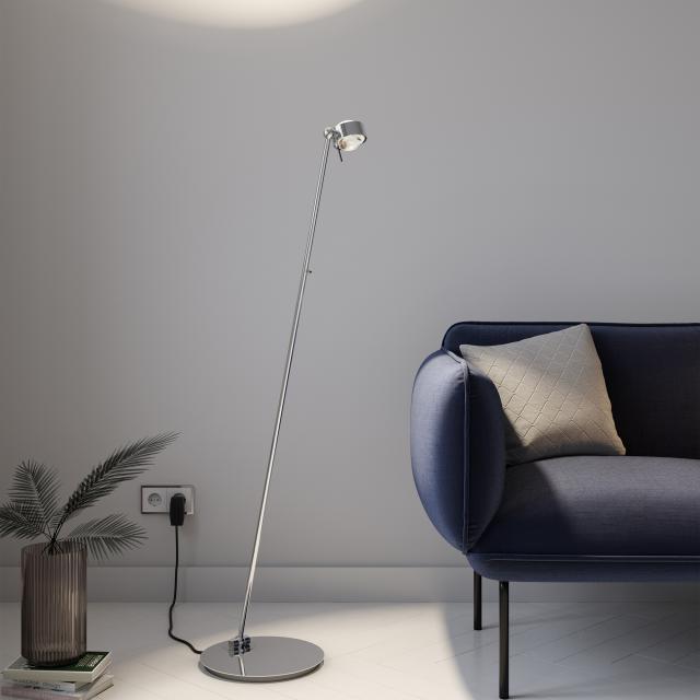 Top Light Puk Floor Mini Single LED Stehleuchte mit Dimmer