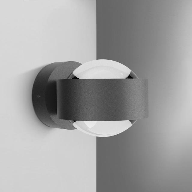 Top Light Puk mini 80 LED Wandleuchte ohne Zubehör