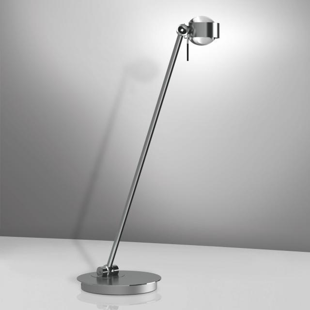 Top Light Puk Table Single LED Tischleuchte mit Dimmer ohne Zubehör
