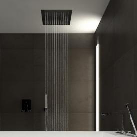 Treos Regenpaneel, für Deckeneinbau edelstahl gebürstet