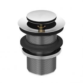 Treos Serie 173 Ablaufgarnitur, für Becken ohne Überlauf - Mit Druckverschluss