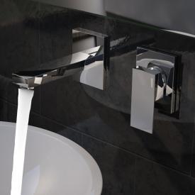 Treos Serie 175 2-Loch Wand-Waschtischarmatur Ausladung: 173 mm