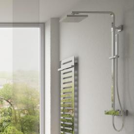 Treos Serie 175 Thermostat-Duschsystem mit Kopfbrause, für Wandmontage