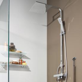 Treos Serie 178 Thermostat Duschsystem für Wandmontage mit Kopfbrause