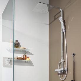 Treos Serie 178 Thermostat-Duschsystem mit Kopfbrause, für Wandmontage
