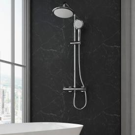Treos Serie 191 Thermostat-Duschsystem, für Wandmontage