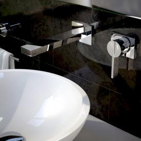 Treos Serie 195 2-Loch-Wand-Waschtischarmatur Ausladung: 170 mm