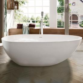 Treos Serie 700 Freistehende Oval-Badewanne weiß