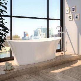 Treos Serie 730 Freistehende Oval-Badewanne weiß