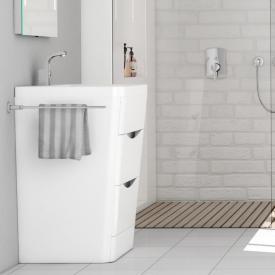 Treos Serie 920 Waschtisch mit Waschtischunterschrank mit 2 Auszügen mit Hahnloch
