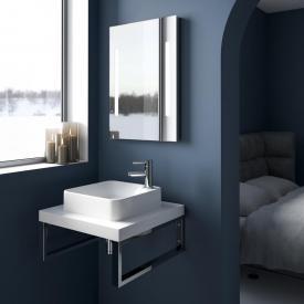 Treos Serie 950 Konsole für 1 Aufsatz-/Einbauwaschtisch weiß matt