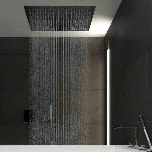 treos regenpaneel f r deckeneinbau edelstahl geb rstet reuter. Black Bedroom Furniture Sets. Home Design Ideas