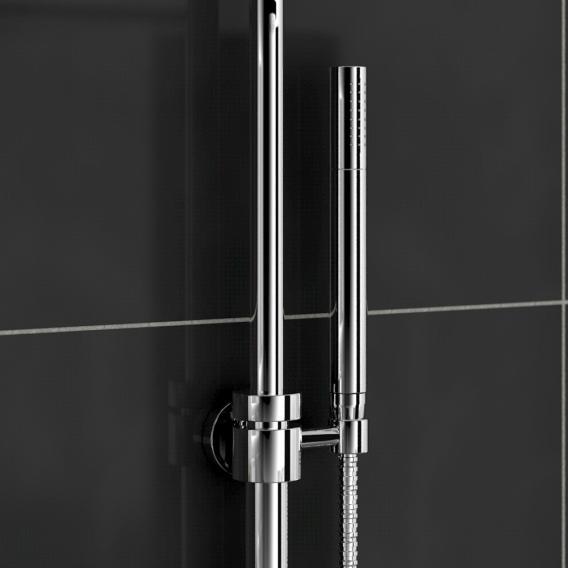 Treos Serie 195 Duschsystem mit Kopfbrause, für Wandmontage