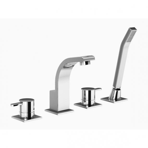 treos serie 198 4 loch wannenrandarmatur. Black Bedroom Furniture Sets. Home Design Ideas