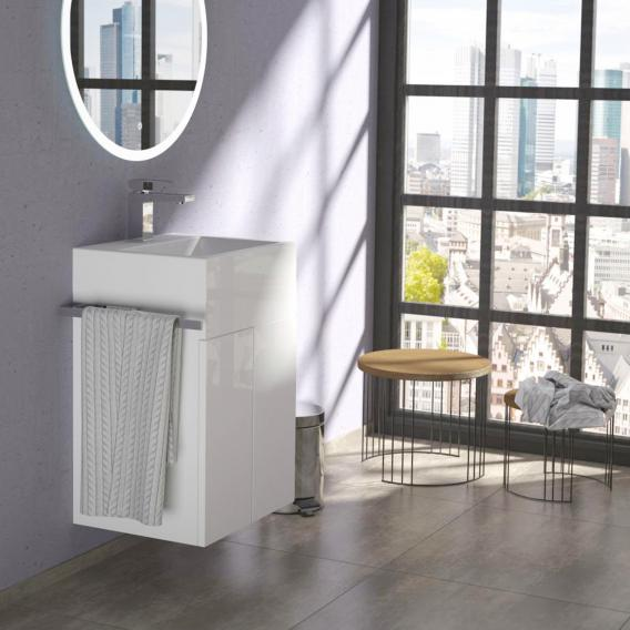 Treos Serie 910 Waschtisch mit Waschtischunterschrank mit 2 Türen