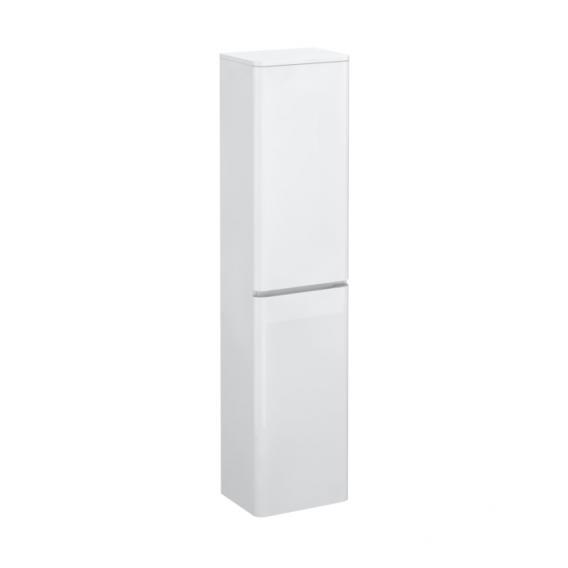 Treos Serie 920 Hochschrank mit 2 Türen Front weiß / Korpus weiß