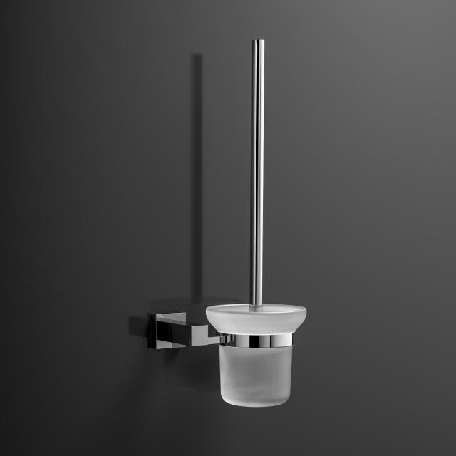 Treos Serie 505 Toilettenbürstengarnitur für Wandmontage weiß