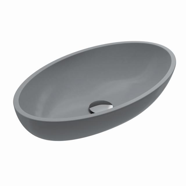 Treos Serie 710 Aufsatzwaschtisch grau matt