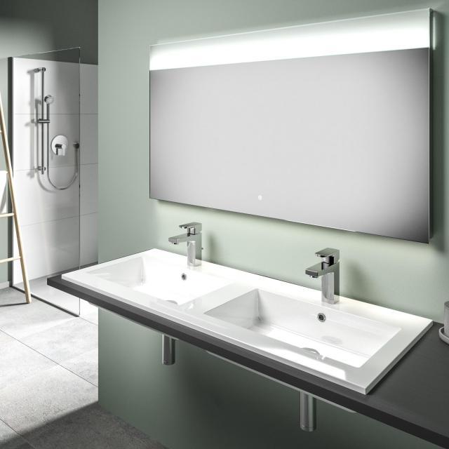 Treos Serie 750 Doppel-Einbauwaschtisch