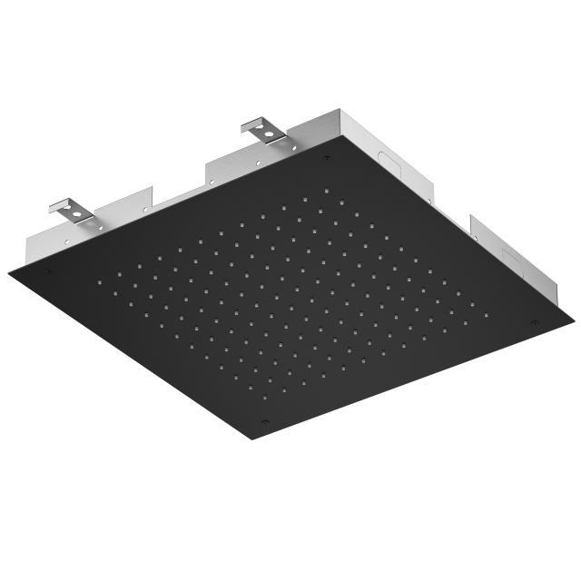 Treos Serie 930 Regenpaneel für Deckeneinbau schwarz matt