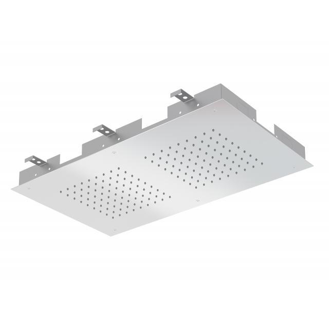 Treos Serie 930 Regenpaneel für Deckeneinbau chrom