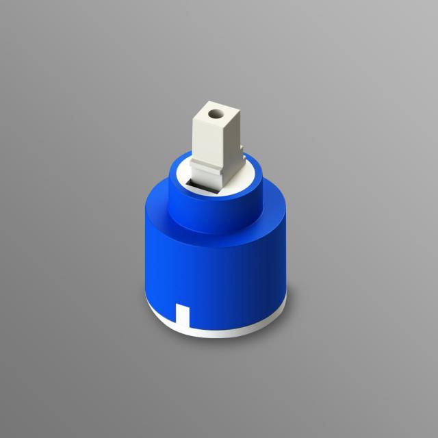 Treos Universal Keramikkartusche für Armaturen Ø 35 mm
