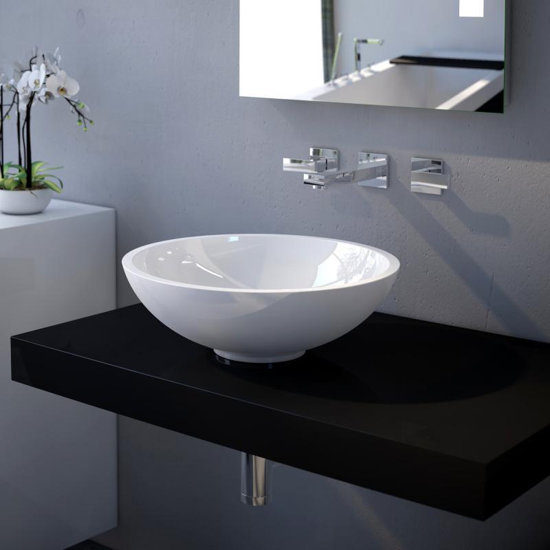 treos serie 710 aufsatzwaschtisch reuter. Black Bedroom Furniture Sets. Home Design Ideas