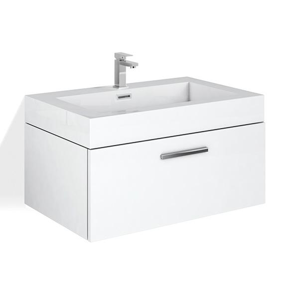 waschtischunterschrank mit waschbecken bl57 hitoiro. Black Bedroom Furniture Sets. Home Design Ideas