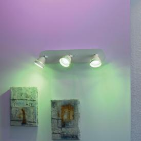 Trio Gemini RGBW LED Spot/Deckenleuchte mit Dimmer, 3-flammig