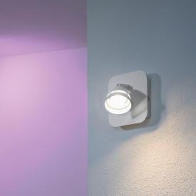 Trio Gemini RGBW LED Spot/Wandleuchte mit Dimmer
