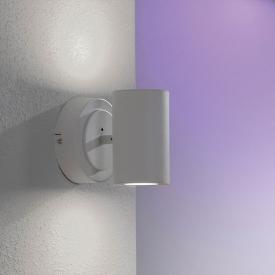 Trio Sancho RGBW LED Spot/Wandleuchte mit Dimmer