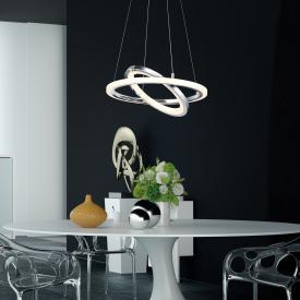 Trio Saturn LED Pendelleuchte