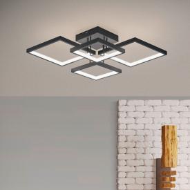 TRIO Sorrento LED Deckenleuchte mit Dimmer