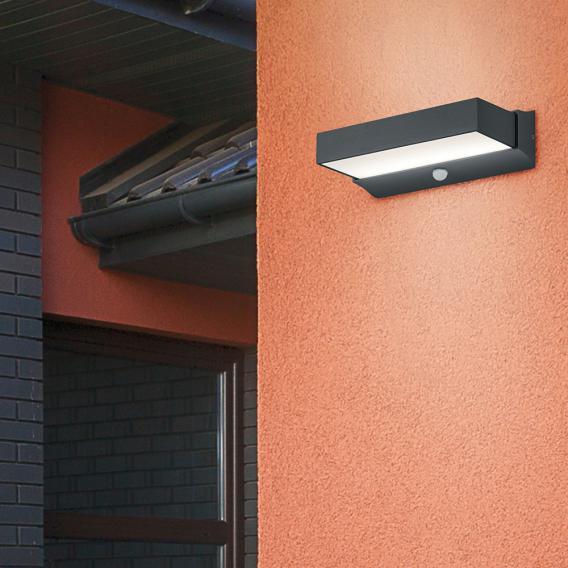 TRIO Cuando LED Wandleuchte mit Bewegungsmelder