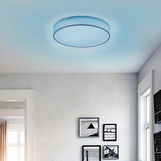 Trio Diamo RGBW LED Deckenleuchte mit Dimmer