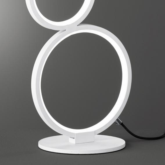 Trio Rondo LED Tischleuchte mit Dimmer
