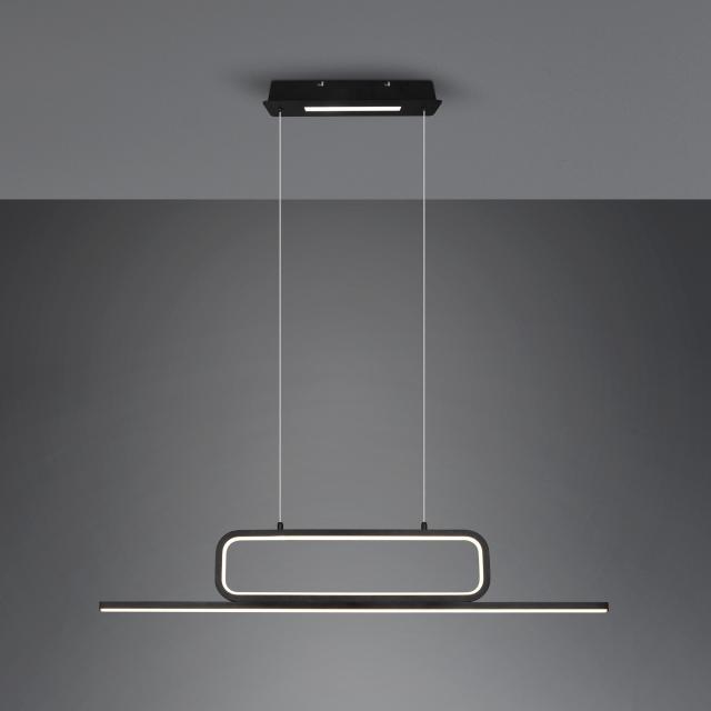 TRIO Aick LED Pendelleuchte mit Dimmer