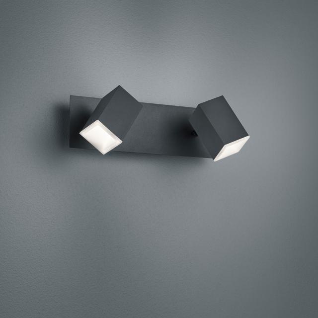 TRIO Lagos LED Wandleuchte / Spot, 2-flammig