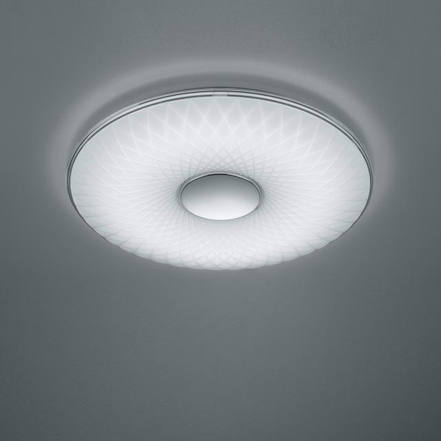 TRIO Lotus LED Deckenleuchte mit Dimmer und Fernbedienung