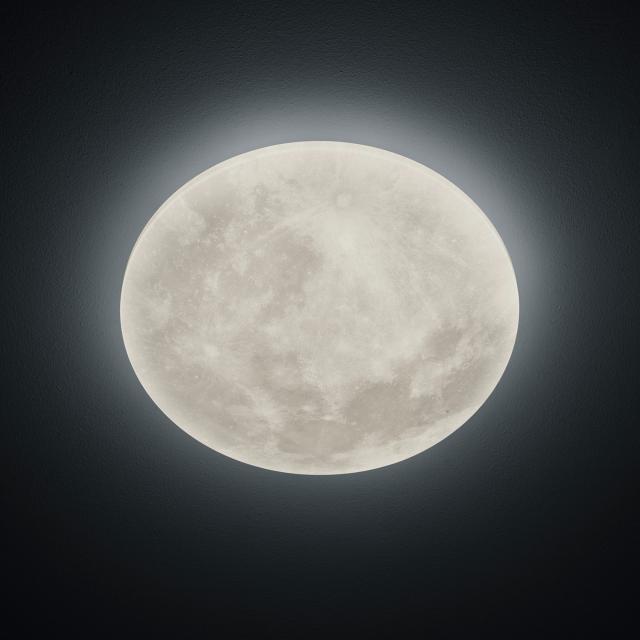 TRIO Lunar LED Deckenleuchte mit Dimmer