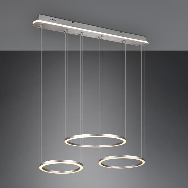 TRIO Morrison LED Pendelleuchte mit Dimmer und CCT