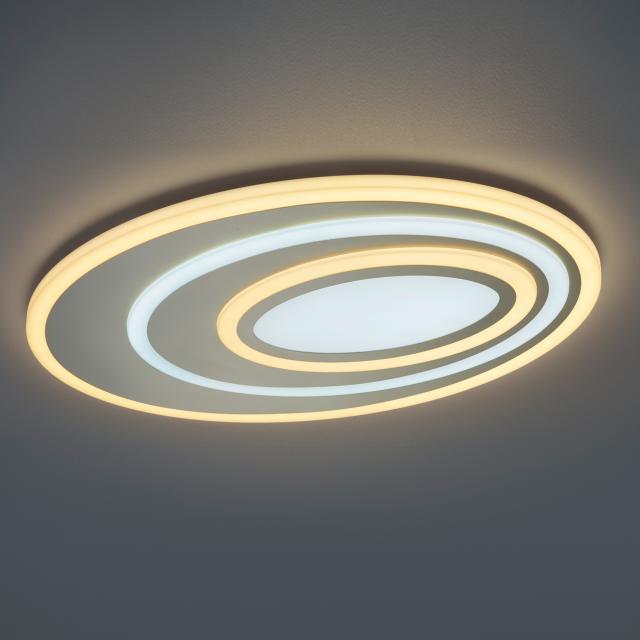 TRIO Subara LED Deckenleuchte mit Dimmer