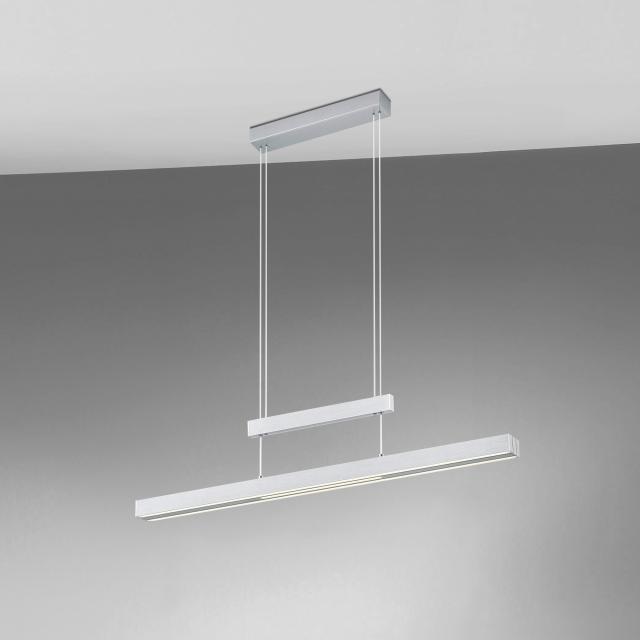 TRIO Trajan LED Pendelleuchte mit Dimmer und Farbtemperatur einstellbar