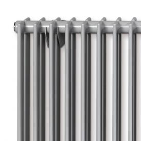 Vasco Tulipa Horizontal niedrige Heizkörper, 2reihig breite 810 mm, 18 Rohre, 1088 Watt