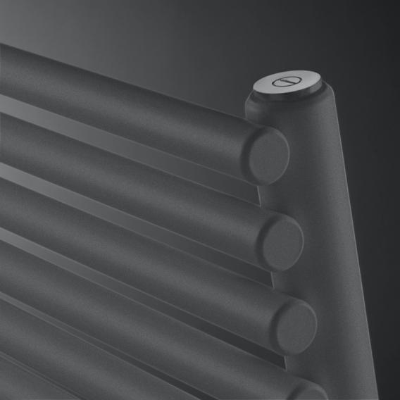 Vasco Agave HR-EL Badheizkörper für rein elektrischen Betrieb anthrazit Januar, 750 Watt
