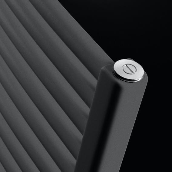 Vasco Iris HD-EL Badheizkörper für rein elektrischen Betrieb anthrazit Januar, 500 Watt