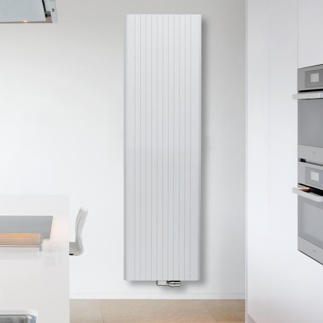 Vasco Alu-Zen Vertikal Heizkörper feinstruktur weiß, breite 600 mm, 2155 Watt