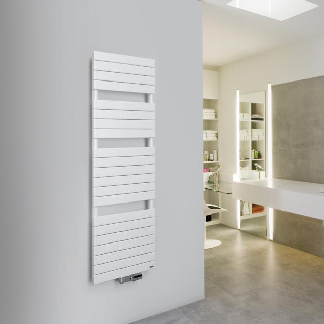 Vasco Aster Badheizkörper für Warmwasser- oder Mischbetrieb weiß, 638 Watt, einlagig
