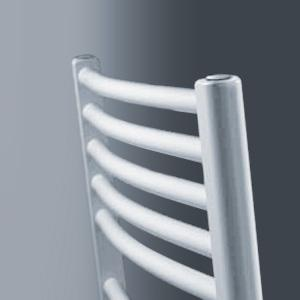 Vasco Bano Badheizkörper, mit Standardanschluss, gebogen breite 60 cm, 970 Watt